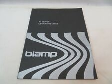 Biamp 83 Series Operating Guide Owners Manual