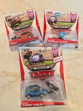 DISNEY PIXAR WORLD OF CARS 2 RSN Racing Sports Network BUNDLE LOT Chuck Cora