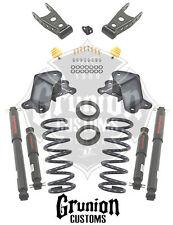 GMC C1500 1988 - 1998 2/4 Lowering Kit w/Nitro Drop 2 Shocks Belltech