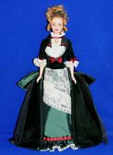 Victorian Holiday Barbie Doll Only No Box No Stand Mint From Victorian Gift set