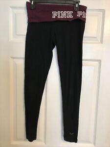 Victoria Secret PINK Small Yoga Leggings Black