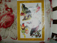 NEW Artifacts, Inc. Victorian Images Vintage Style Paper Scraps Scrap Art birds