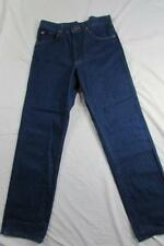 Vtg Lee Riders USA Made Dark Denim Jeans Tag 32x32 Measure 30x31 80s 90s