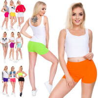 Womens Ultra Soft Cotton Shorts Stretchy Cycling Leggings Yoga Gym Knickers PSL5