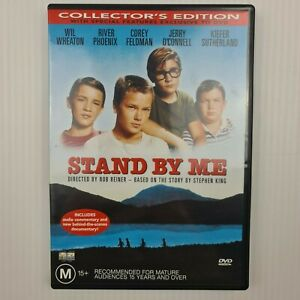 Stand by Me DVD - Region 4 - Wil Wheaton - River Phoenix - FREE TRACKED POST