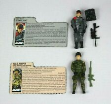 Set Of 2 Action Figues 1983 GI Joe Halo Jumper RIPCORD & Night-Spotter LOW-LIGHT