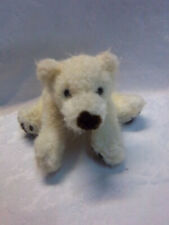 "Russ Glacier Hairy Polar Bear 12"" Plush Soft Toy Stuffed Animal"