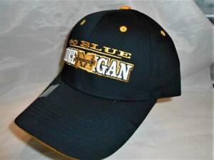 New Licensed Michigan Wolverines GO BLUE Adjustable Hat SALE!  ___B89