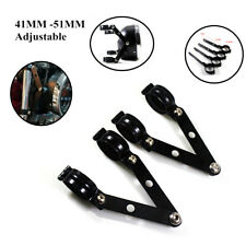 41-51MM Adjustable Metal Motorcycle ATV Side Fork Headlight Mount Bracket Holder