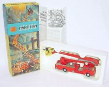 Corgi Major 1:50 BEDFORD SIMON SNORKEL FIRE ENGINE ERECTOR TRUCK 1127 NMIB`65!
