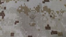 "NWU Type 2 Digital Military NY/CO Twill Camouflage Fabric 64""W AOR 1 USN Logo"