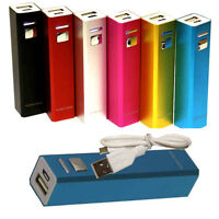 2600mAh Portable External Power Bank Battery Charger For Mobile Cell Phone