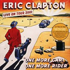 ERIC CLAPTON ONE MORE CAR ONE MORE RIDER LTD CLEAR VINYL 3xLP RSD 2019