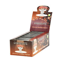 1 BOX/50pack CHOCOLATE  Flavors Tobacco Smoking Rolling Paper 78*44MM