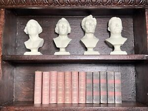 1/6 Scale Presidential Busts 1.75 Inches Tall  ( Books and Shelf Not Included)