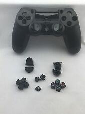 Original Genuine Sony PS4 Wireless Controller Shell Case Black + Buttons USED