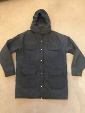 Woolrich Parka Coat Mens Size XL Winter Jacket Hunting Barn Long Sleeve Gray