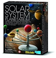 BUILD YOUR OWN GLOW IN THE DARK SOLAR SYSTEM PLANETARIUM MODEL - NEW & SEALED!