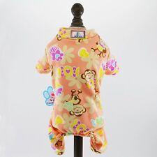 DOG ONSIE PAJARMAS CHIHUAHUA YORKIE PUPPY TINY PINK XS 17CM orange monkey xxs
