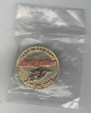 OTTAWA RENEGADES - SASKATCHEWAN ROUGHRIDERS 28.06.2002 INAUGURAL GAME PIN SEALED
