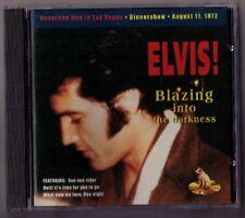 Elvis Presley CD Blazing Into The Darkness - Live in Las Vegas 1972