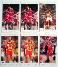 ONE LOT OF SIX 1993'S VOLLEYBALL CARDS ***** LOT DE 6 CARTES DE VOLLEYBALL 1993