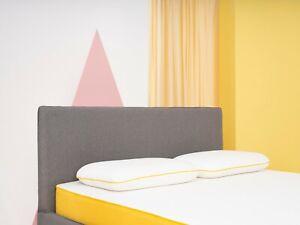 NEW eve Sleep - the Lighter Memory Foam Pillow   Support   Medium-Firm Comfort