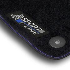 Auto-Fußmatten SportLine blau-grau für Opel Astra Typ H / auch GTC 2004 - 2010