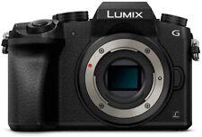 Panasonic Lumix DMC-G7 Mirrorless Micro 4/3 Digital Camera Body Only Black NEW!