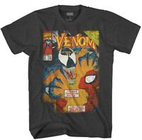 Spiderman VS Venom Graphic T- Shirt Mens Size LT.  Vintage