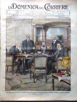 La Domenica del Corriere 27 Ottobre 1912 Pace Italo-Turca Colonie Mussa Bologna