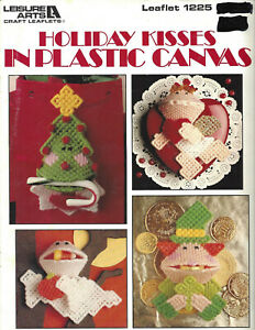 Holiday Kisses In Plastic Canvas Squeezums Pattern Book – Dick Martin 1989