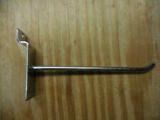 6 Slatwall Hooks Crome Lot Of 56