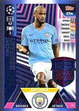 2018 19 UEFA Match Attax Vincent Kompany Limited Edition Card Super Squad LE2
