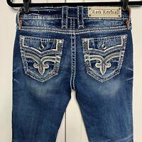 Rock Revival Women's Jeans Size 26 Priya Boot