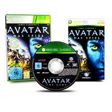 Xbox 360 Game James Cameron?S Avatar the Game in Original Package with Guide