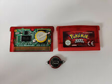Nintendo Gameboy Advance - Genuine Pokemon Ruby (New Battery) Tested