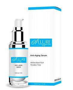 Allure Skin Care - Anti-aging Serum - 0.50 fl oz / 15 ml