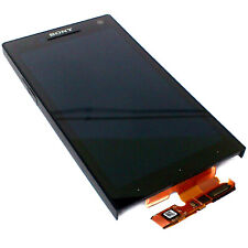 100% Genuine Sony Xperia S LT26i front+digitizer touch screen+LCD display BlackC