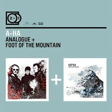 A-HA - 2 FOR 1: ANALOGUE/FOOT OF THE MOUNTAIN 2 CD NEW