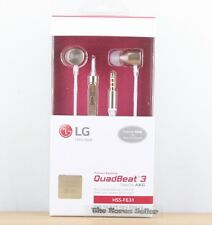 Genuine LG QuadBeat 3 Tuned by AKG Headset Original Premium Headphones G4 G5 V10