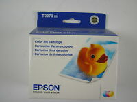 Genuine Epson T0370 Color Ink cartridges for C42UX,C42SX,C44UX expired
