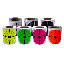 200pc 3inch Florescent Adhesive Target Stickers for Hunting Shooting Archery