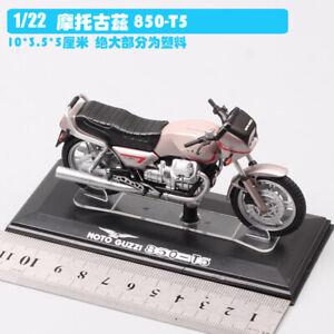 1/22  MOTO GUZZI 850-T5 dirt bike Motocross Diecast model Motorcycle toy