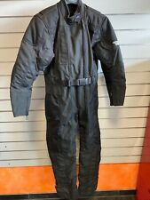 Harley Davidson FXRG Waterproof Bad Weather Overall Riding Suit Black 98506-99