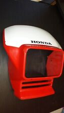 HONDA XR 650L HEADLIGHT HOUSING, VISOR, OEM HONDA 87125-MY6-A20ZA