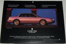 1994 Oldsmobile Cutlas Ciera 4 dr sedan car print (gold)