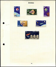 Romania 1964 Space Album Page Of Stamps #V4422