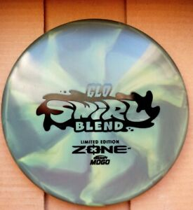 Limited Edition Discraft Glo Swirl Blend Zone, 173-174