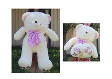 """1.2m 48"""" 120cm Tall Giant Lovely Teddy Bear Xmas Christmas Gift"""
